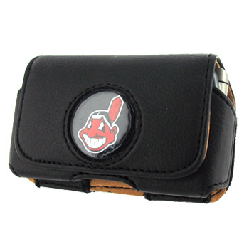MLB Cleveland Indians Horizontal Cell Phone Case / Pouch