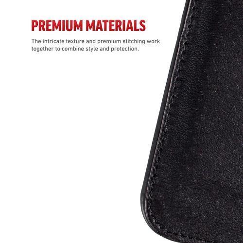 LG G6 Wallet Case, REDshield [Black Shiny Sparkling Gem w/ Silver] Kickstand Feature Luxury Faux Saffiano Leather Front Flip Cover with Built-in Card Slots, Magnetic Flap