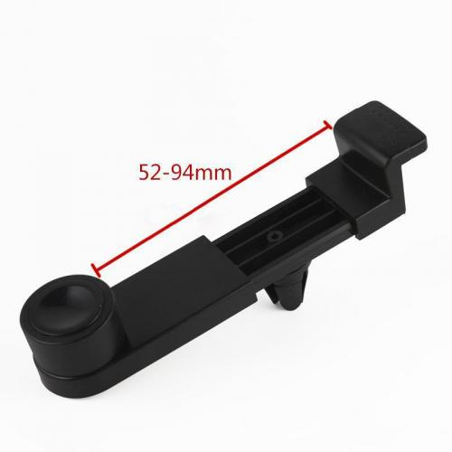 Black Adjustable Air Vent Mount - Easy installation, No Tools Required!