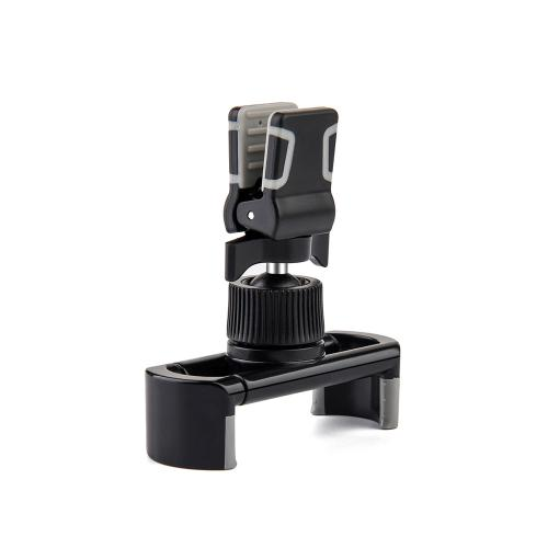 Universal Air Vent Car Mount Holder w/ 360 Degree Rotatable Swivel Head For Mobile Phones and Devices [Black]