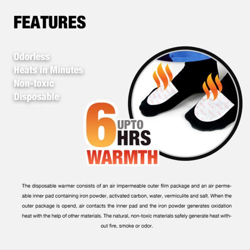 Owlheat [starter Warmer Combo - 2 Pieces Hand / 2 Pieces Toe / 1 Pocket] - Disposable Self Heating Hand/toe/body Warmers -They Heat Up In Seconds