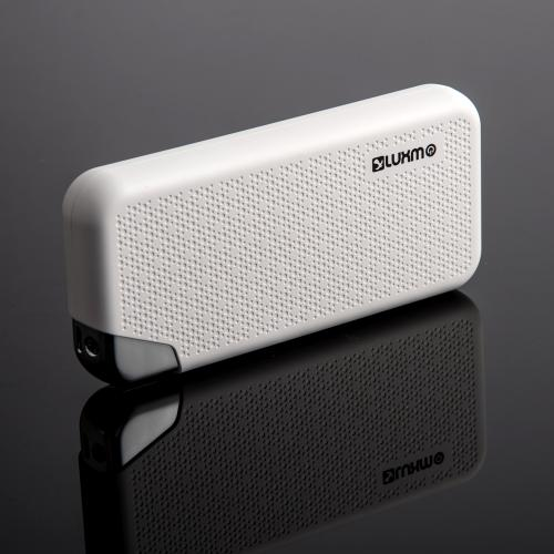Universal High Capacity [12000mAh] Smart Power Bank Battery Charger w/ Dual USB Ports [White] - Charge Your Tablet or Phone!