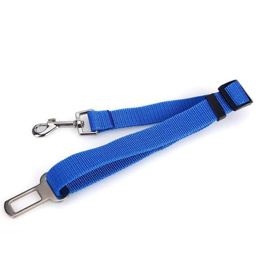 Adjustable Pet Car Seat Belt [Blue] Keep Your Dog Safely Restrained While Driving!