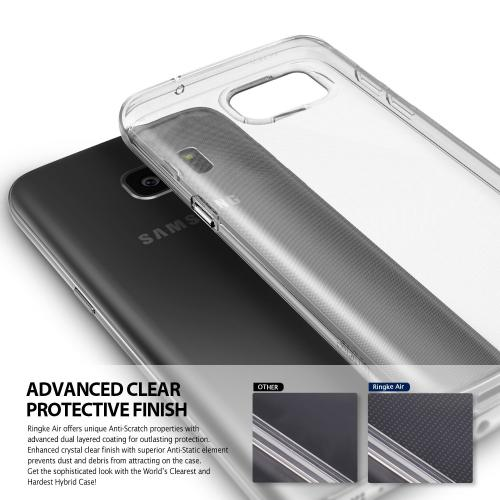 Samsung Galaxy S7 Case, Ringke [AIR][Clear] Extreme Lightweight Ultra-Thin Flexible TPU Case