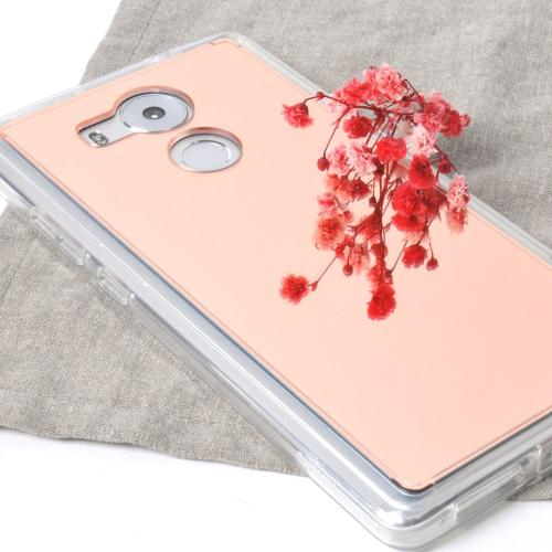 Huawei Mate 8, [FUSION MIRROR] Rose Gold