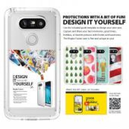 LG G5  Case, Ringke [Clear] FUSION Series Crystal Clear PC Back TPU Bumper Case
