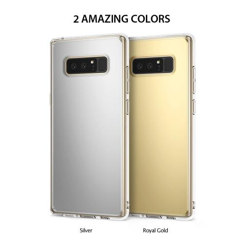 Samsung Galaxy Note 8 Case, Ringke [MIRROR] Bright Reflection Radiant Luxury Mirror Protection Cover - Royal Gold
