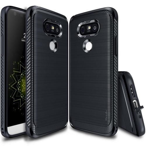 LG G5  Case, Ringke [Midnight Navy] ONYX Durable Anti-Slip Drop Protection, TPU Defensive Case