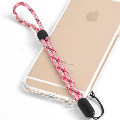 Ringke® Paracord Lanyard Wrist Strap [PINK CAMO] for Smartphones & IDs, etc.