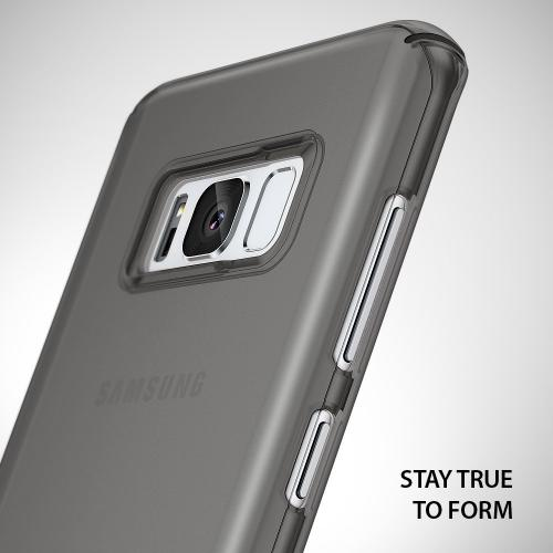 Samsung Galaxy S8 Slim Case, Ringke [SLIM Series] Dazzling Slender [Laser Precision Cutouts] Fashionable & Classy Superior Steadfast Bolstered PC Hard Skin cover - Frost Gray