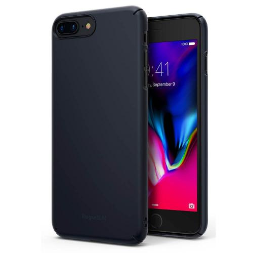 [Ringke] Apple iPhone 8 / 7 Case, [SLIM] Lightweight Thin PC Hard Shell Snug-Fit Protection Cover [Slate Metal]