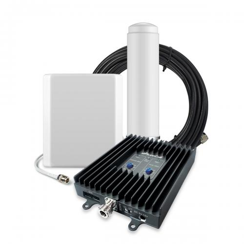 SureCall [FlexPro] Voice & Text Cell Phone Signal Booster Omni/ Panel Kit [Homes up to 6,000 sq ft]