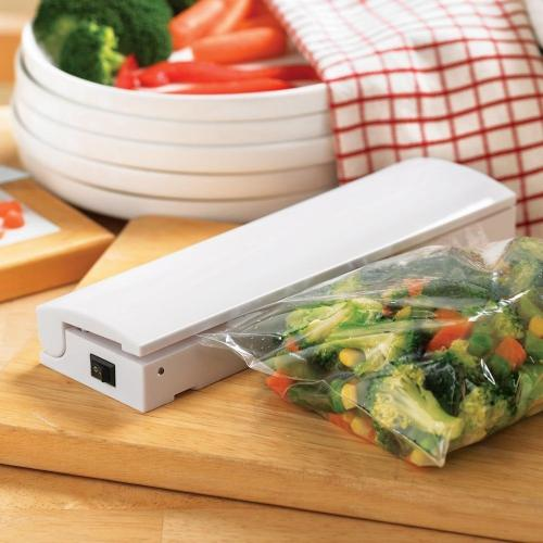 Eutuxia Heat Sealer Machine with LED Seal Indicator for Airtight Food Storage. Portable Kitchen Tool & AccessoryGeeks.com | Portable Food Vacuum Sealer Machine - Keep Your ...