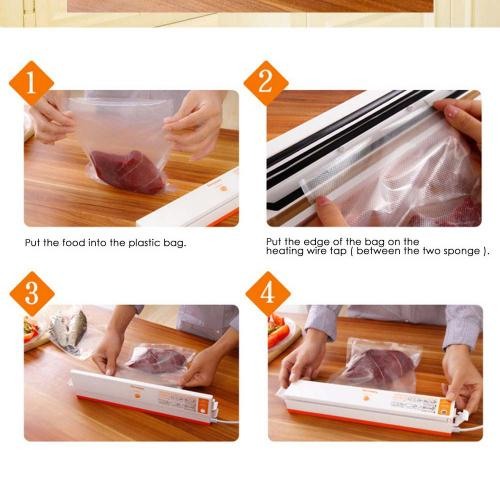 Portable Food [Automatic] Vacuum Packing Sealer Machine - Keep Your Food Fresh! [110V]