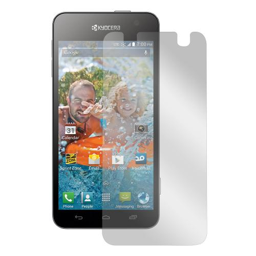 Clear Kyocera Hydro Vibe Anti-Glare Touch Screen Protector - Great Way To Prevent Glare!