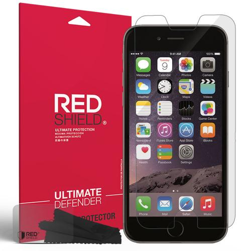 Apple iPhone 6/ 6S Screen Protector, REDshield [Crystal Clear] HD Ultra Thin Scratch Resistant, Bubble Free, Protective Screen Guard Film