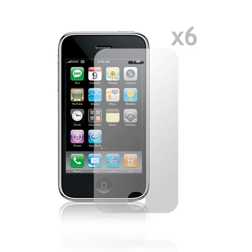 Made for Apple iPhone 3G/3Gs High Quality Screen Protector (6 Pack) by Redshield