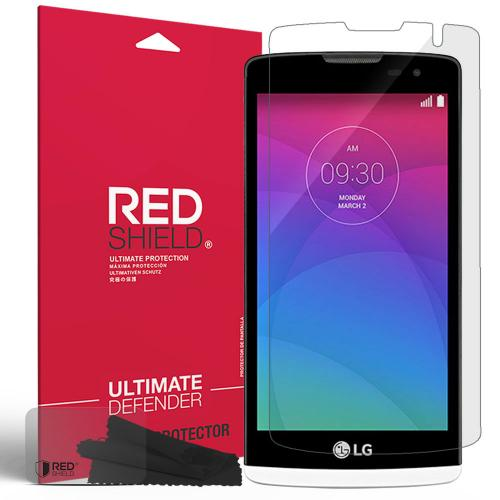 LG Leon (T-Mobile, MetroPCS) Screen Protector, [Crystal Clear] Anti-Scratch, Anti-Shock, Anti-Shatter Precision-Cut HD Protective Screen Guard Film