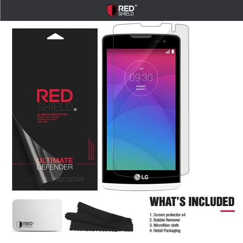 [3+1 Pack] LG Leon Screen Protector, REDshield [Clear] HD Ultra Thin Scratch Resistant, Bubble Free, Protective Screen Guard Film for LG Leon