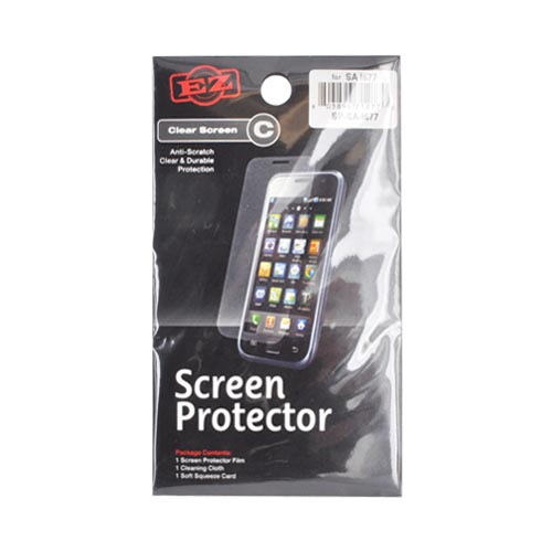Samsung Focus Flash i677 Screen Protector - Clear