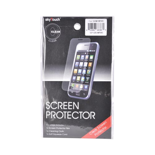Samsung Replenish M580 Screen Protector - Clear