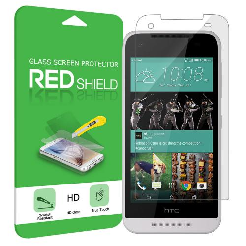 HTC Desire 520 Screen Protector, Premium HD Protective [Tempered Glass] Screen Protector Guard