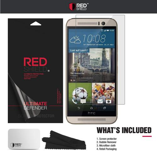 HTC One M9 Screen Protector,  [Tempered Glass] Ultimate Impact-Resistant Protective Screen Protector