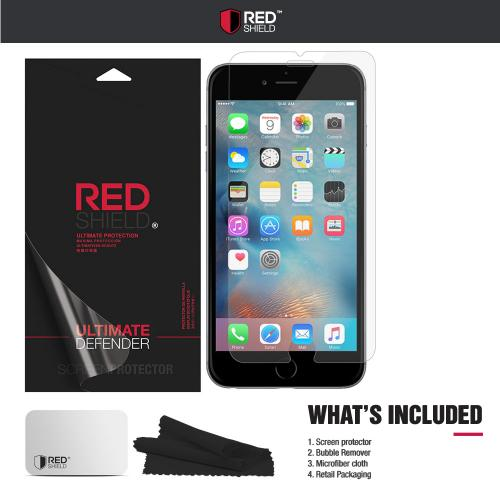 Apple iPhone 6/ 6S Screen Protector, REDshield [Tempered Glass] Ultimate Impact-Resistant Protective Screen Protector