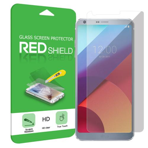 REDShield [Tempered Glass] Ultimate Impact-Resistant Screen Protector for LG G6