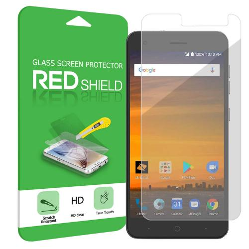 ZTE Blade Force Screen Protector, [Tempered Glass] Ultimate Impact-Resistant Protective Screen Protector
