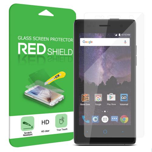 [ZTE Tempo] Screen Protector, [Tempered Glass] Ultimate Tempered Glass Impact-Resistant Protective Screen Protector