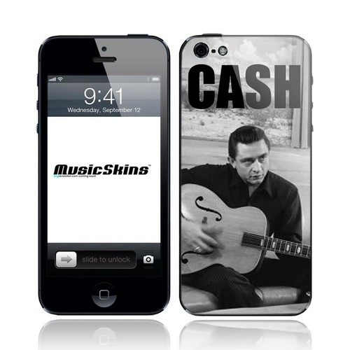 Music Skins Johnny Cash Strum Protective Skin for Apple iPhone 5/5S/5C