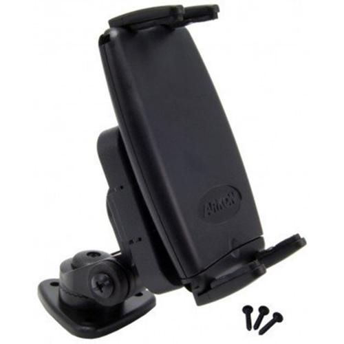 "Arkon Black Slim-Grip Mount - 1"" Multi Angle Adhesive Dashboard (SM050-2 + CM048-2)"