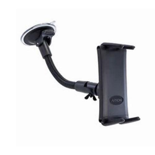 Arkon Black Slim-Grip ULTRA  Mount - 8in Gooseneck Windshield / Dashboard Mount (CM089-ST-2SH + SM060-2 + AP013)