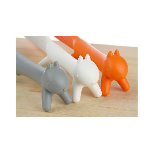 Rice Paddle Spoon - Adorable Squirrel Non-stick Rice Paddle Scoop Spoon [Orange]