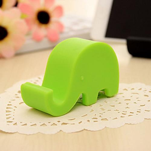 Portable Elephant Phone Holder Stand [Green]