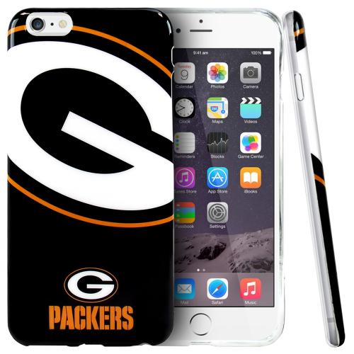 Apple iPhone 6 PLUS/6S PLUS (5.5 inch) Case, NFL Licensed [Green Bay Packers] Protective Silicone TPU Case For Apple iPhone 6 PLUS/6S PLUS (5.5 inch)