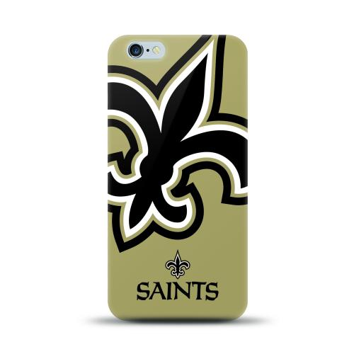 Made for Apple iPhone 6 PLUS/6S PLUS (5.5 inch) Case, NFL Licensed [New Orleans Saints] Protective Silicone TPU Case For Apple iPhone 6 PLUS/6S PLUS (5.5 inch) by NFL