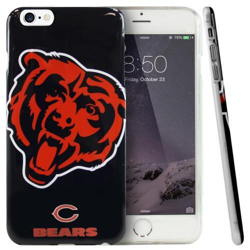 Made for Apple iPhone 6 PLUS/6S PLUS (5.5 inch) Case, NFL Licensed [Chicago Bears] Protective Silicone TPU Case For Apple iPhone 6 PLUS/6S PLUS (5.5 inch) by NFL