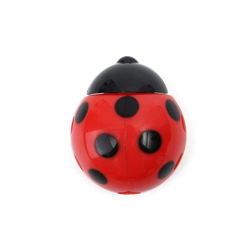 Toothbrush Holder, [Red] Ladybug Toothbrush Holder - Keeps Germs off Your Toothbrush & Suctions to the Mirror!