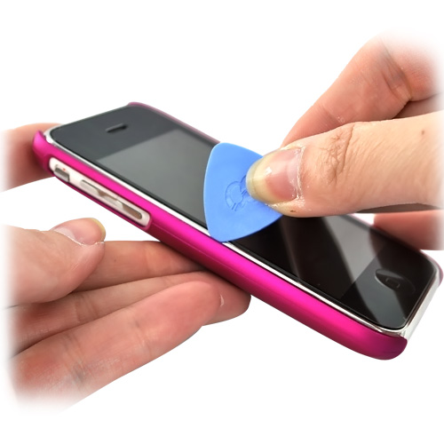 Prying Pry Tool for Cellphone Cases, iPhone, Samsung Galaxy - Tool to Easily Open/Take Off Cases [Blue]