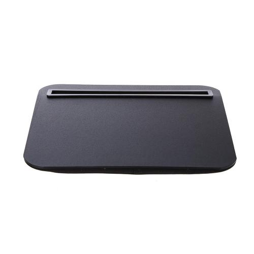 Kikkerland Black Comfortable iBed Portable Lap Desk for Tablets and Phablets