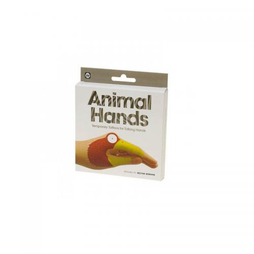 NPW USA Animal Hands Temporary Tattoos (8 Count)