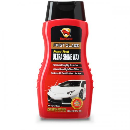 Bullsone First Class Nano Tech Ultra Shine Wax - Deep Gloss And Outstanding Durability Raises The Class Of Your Car!