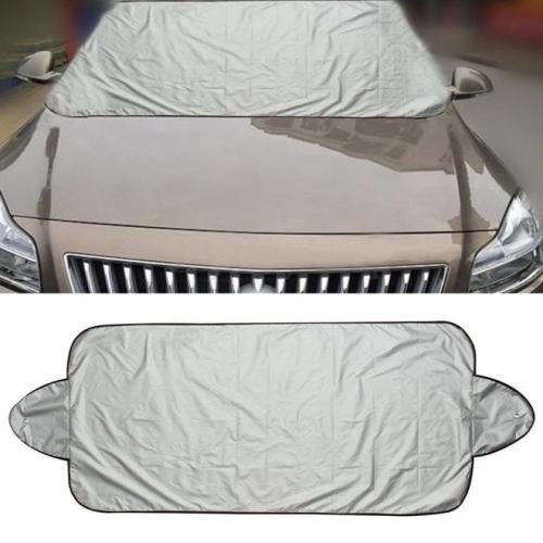 Windshield Snow Cover 2 Pack! - Ice Sun Frost and Wind Proof in All Weather, Fits for Most Vehicles