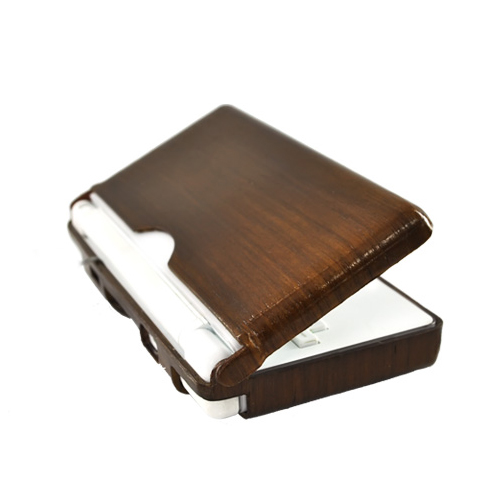 """Exclusive"" TPhone Eco-Design Nintendo DS Lite Wood Finish Hard Back Cover Case - Dark Beech Wood"